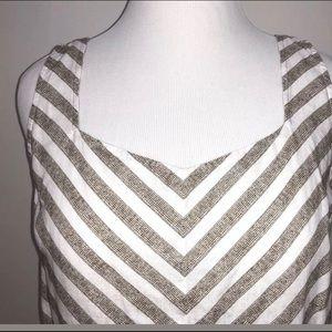 J. Jill Dresses - NWT JJill chevron linen a-line dress with bonus
